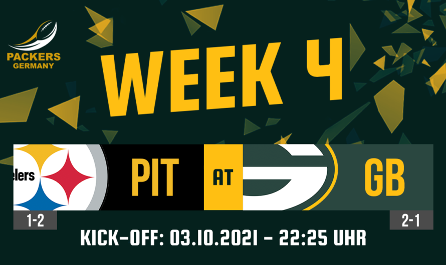 Preview Week 4: Packers vs. Steelers