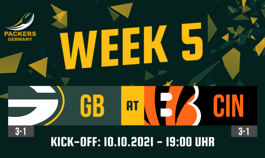 Preview Week 5: Packers at Bengals