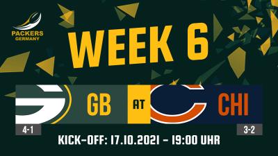 Preview Week 6: Packers at Bears