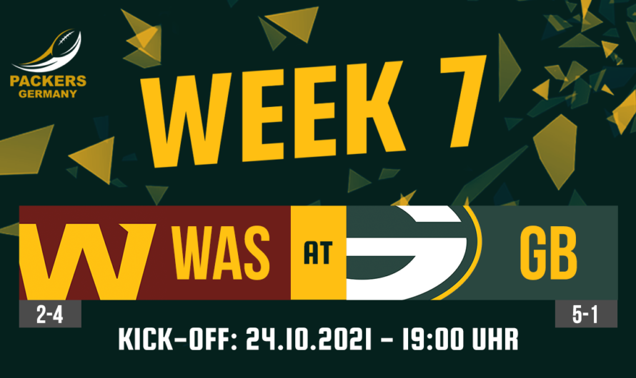 Preview Week 7: Packers vs. WFT